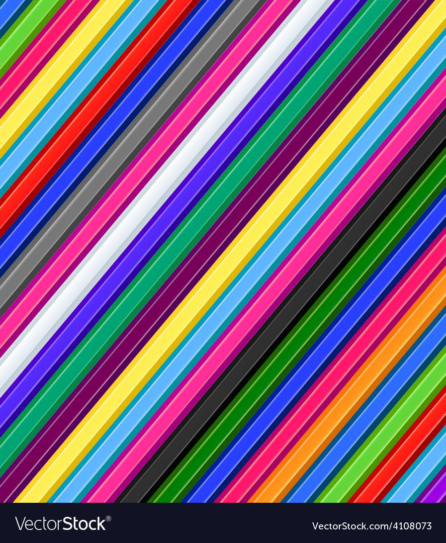 Colored pencils background vector | Price: 1 Credit (USD $1)