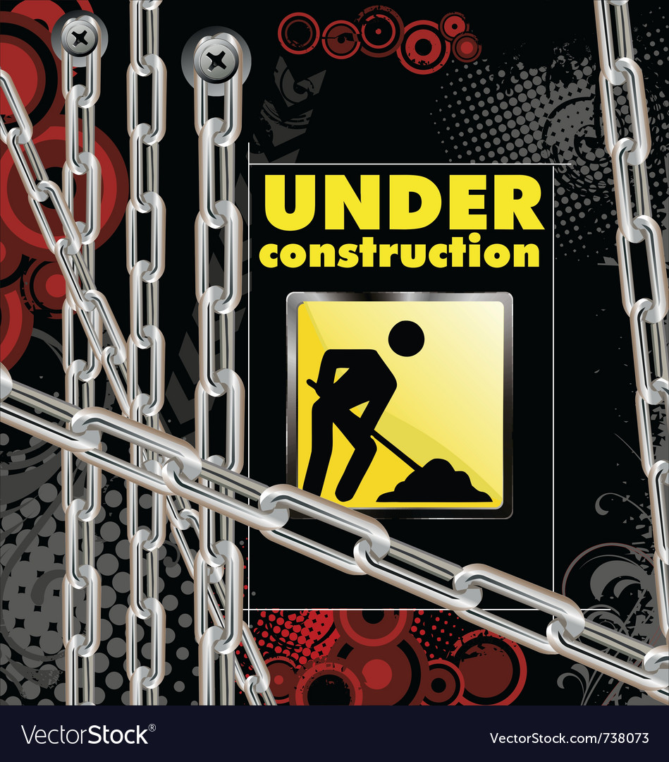 Under construction vector | Price: 1 Credit (USD $1)