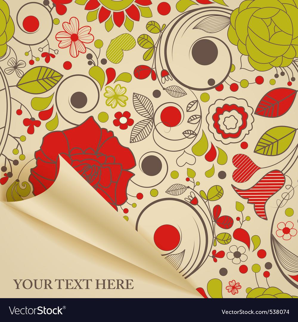 Decorative paper vector | Price: 1 Credit (USD $1)