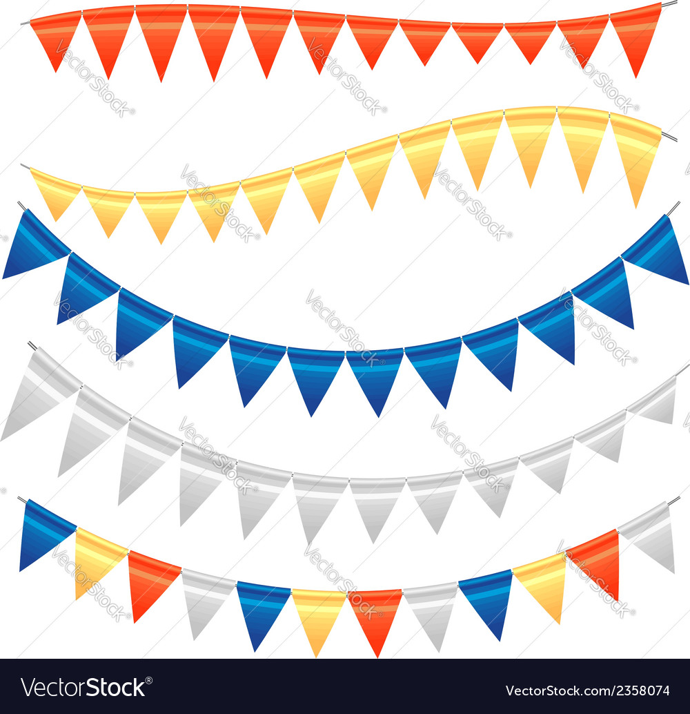 Garland set 1 vector | Price: 1 Credit (USD $1)
