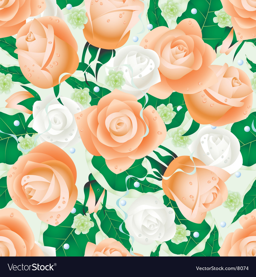 Nuptial seamless pattern vector | Price: 3 Credit (USD $3)