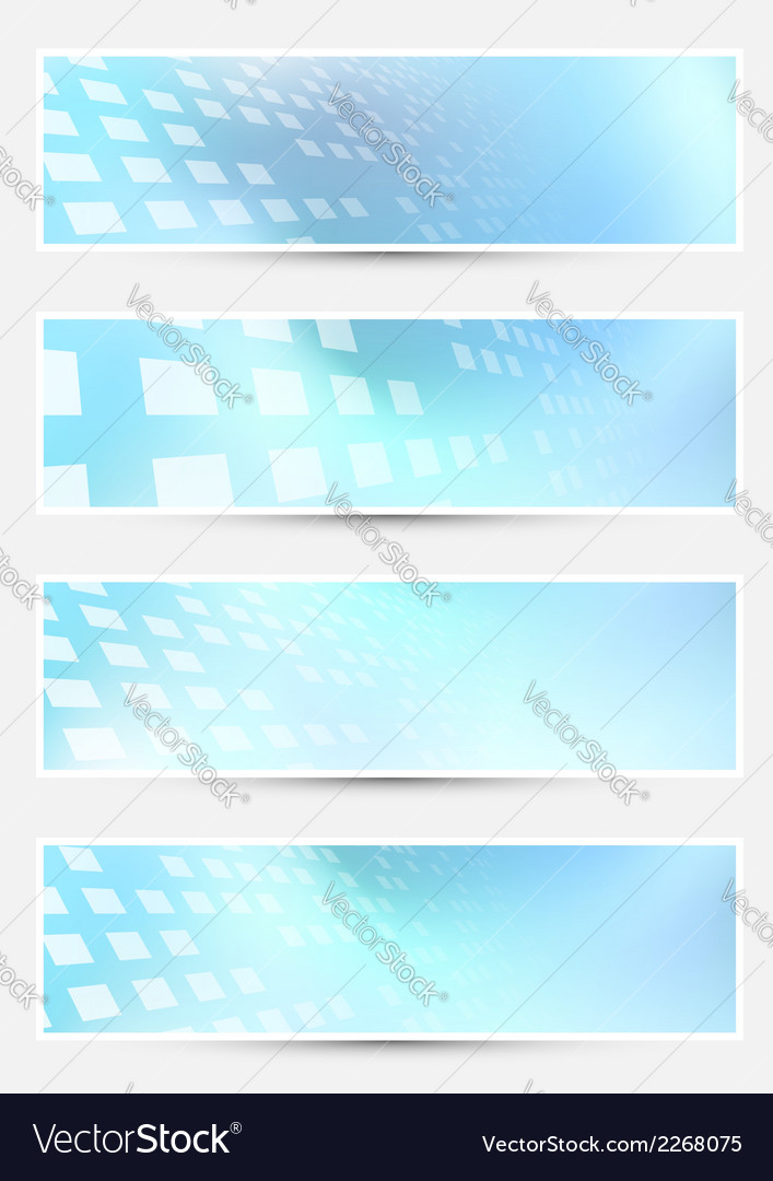 Geometrical bright halftone abstract cards vector | Price: 1 Credit (USD $1)