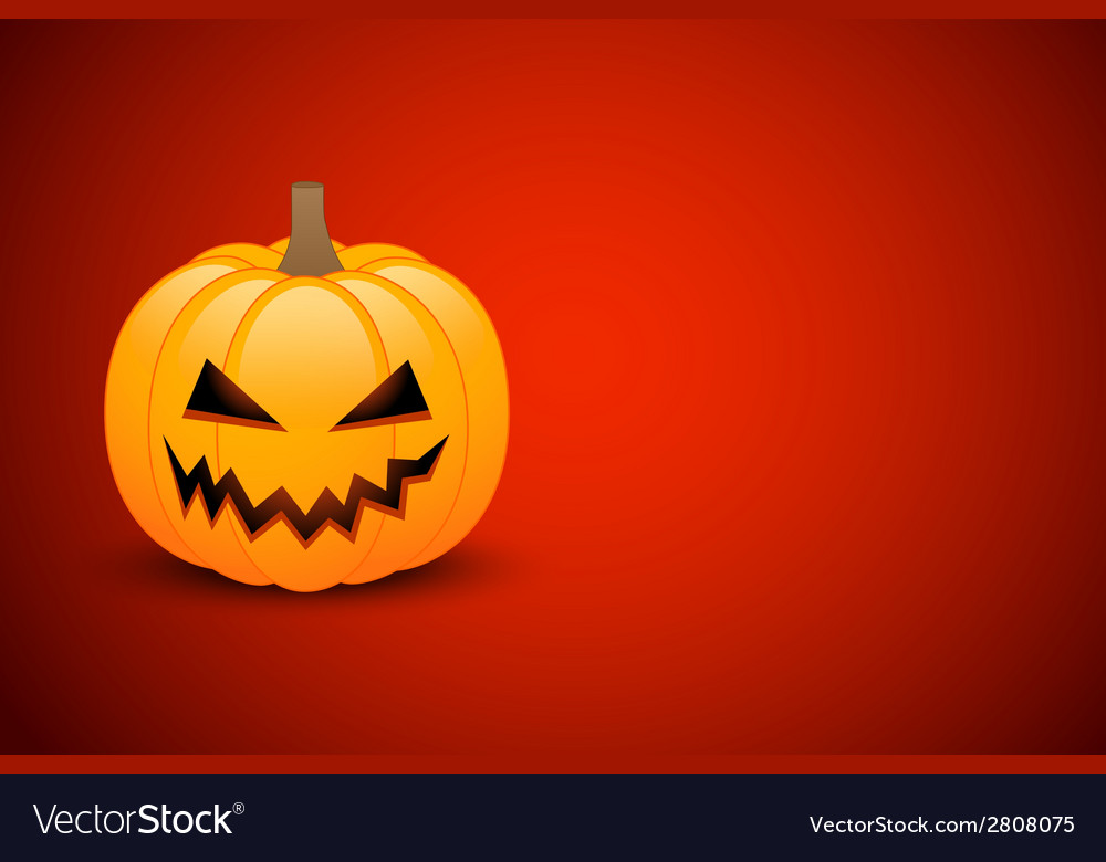 Halloween card or banner vector | Price: 1 Credit (USD $1)