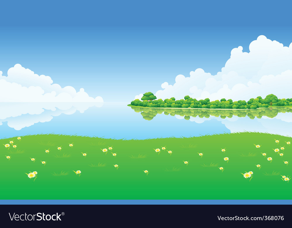 Fresh landscape vector   Price: 1 Credit (USD $1)
