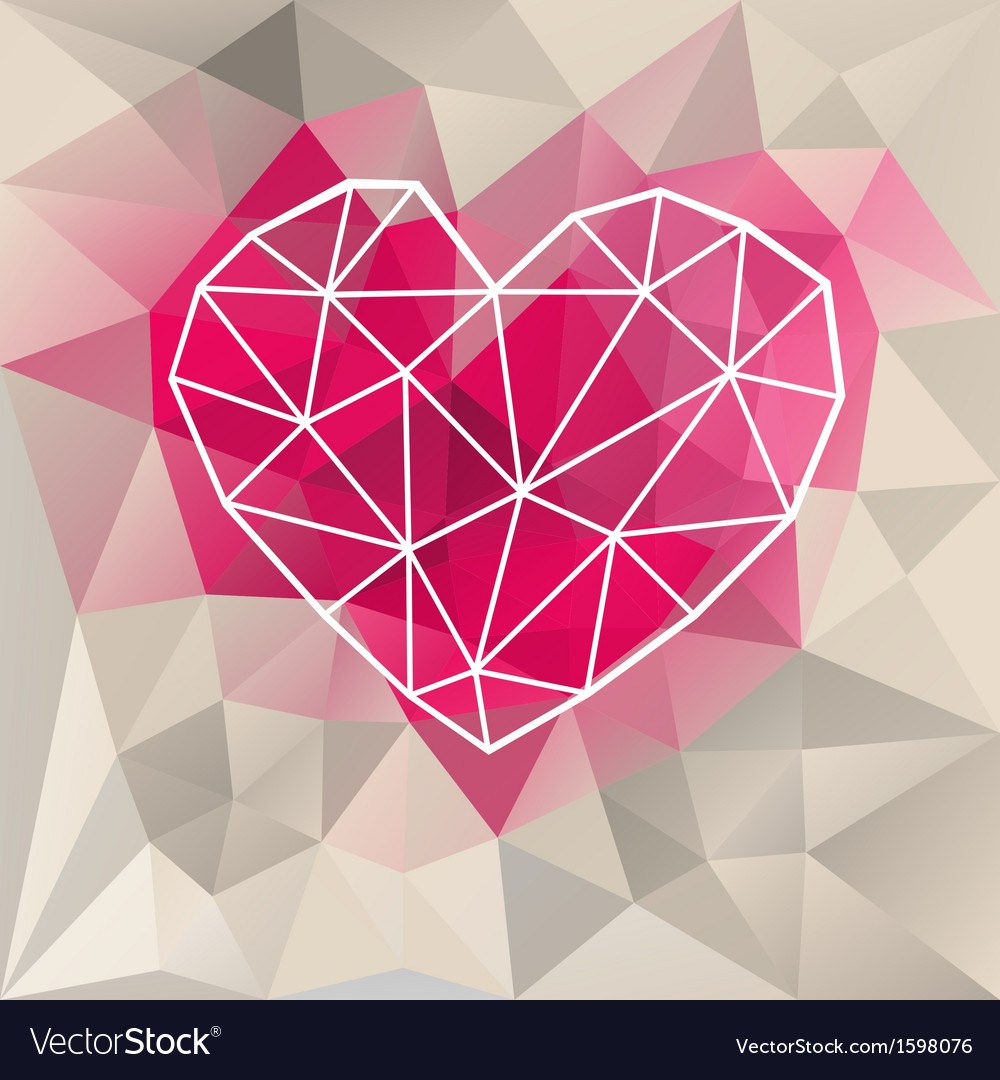 Geometric abstract background vector | Price: 1 Credit (USD $1)