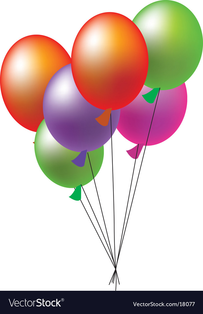 Ballon vector | Price: 1 Credit (USD $1)
