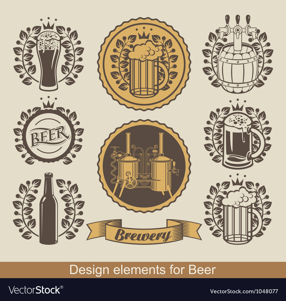Beer banners vector | Price: 3 Credit (USD $3)