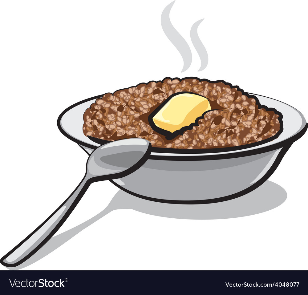 Buckwheat porridge vector | Price: 1 Credit (USD $1)