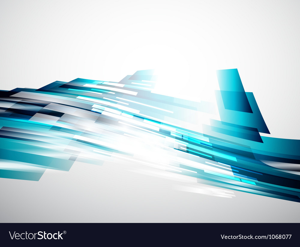 Flowing lines abstract background vector | Price: 1 Credit (USD $1)