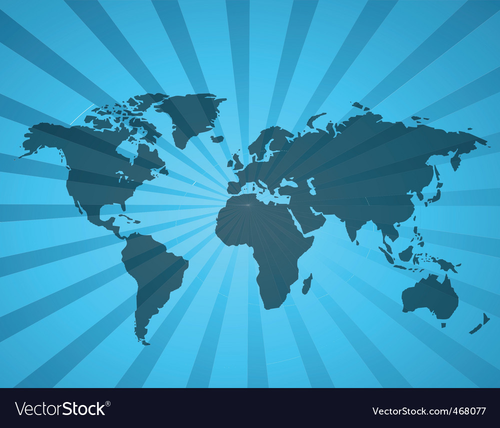 World map1 vector | Price: 1 Credit (USD $1)