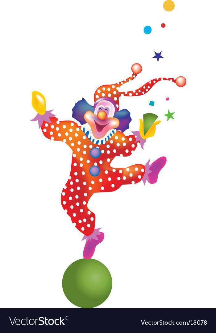 Clown vector | Price: 1 Credit (USD $1)