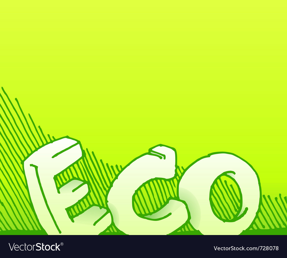 Handmade eco background vector | Price: 1 Credit (USD $1)