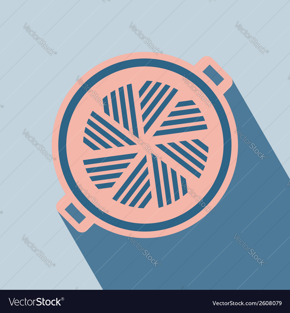 Barbecue grill icon vector | Price: 1 Credit (USD $1)