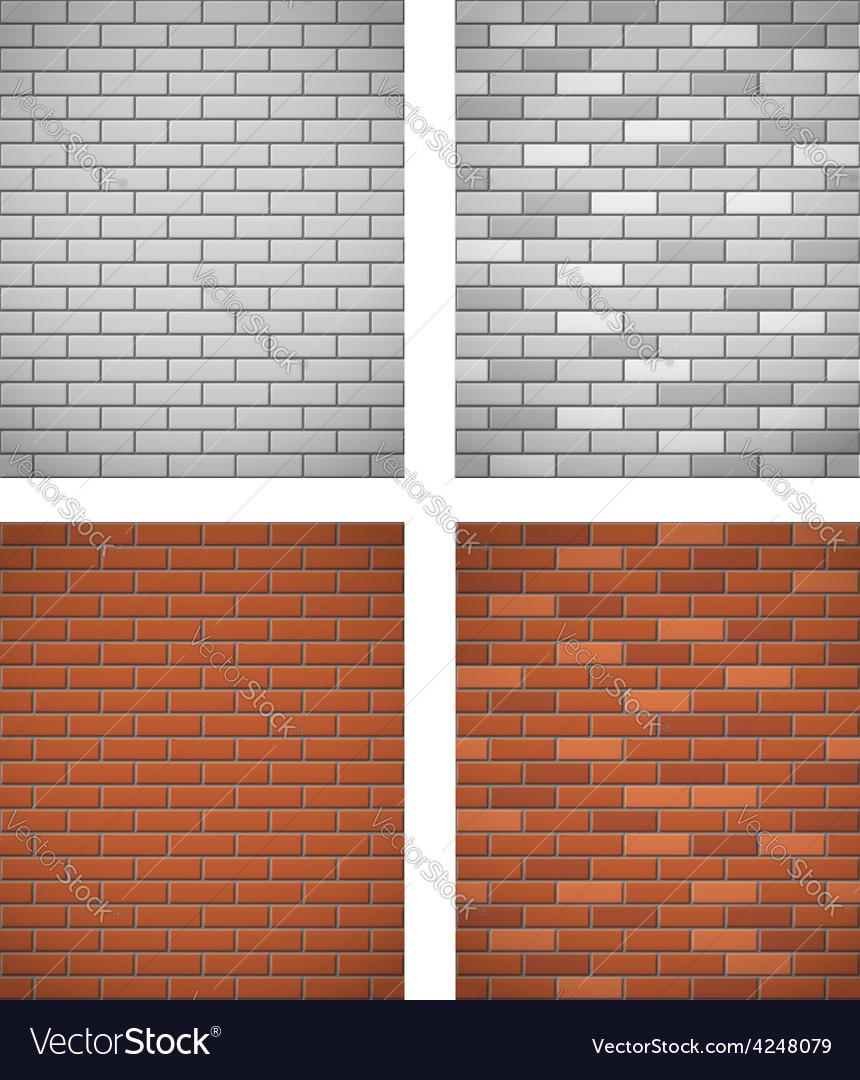 Brick wall 05 vector | Price: 1 Credit (USD $1)