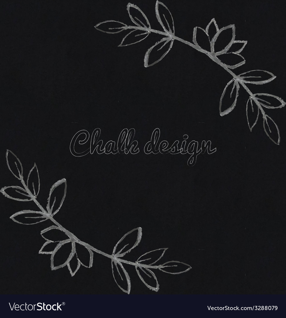 Chalk design elements vector | Price: 1 Credit (USD $1)