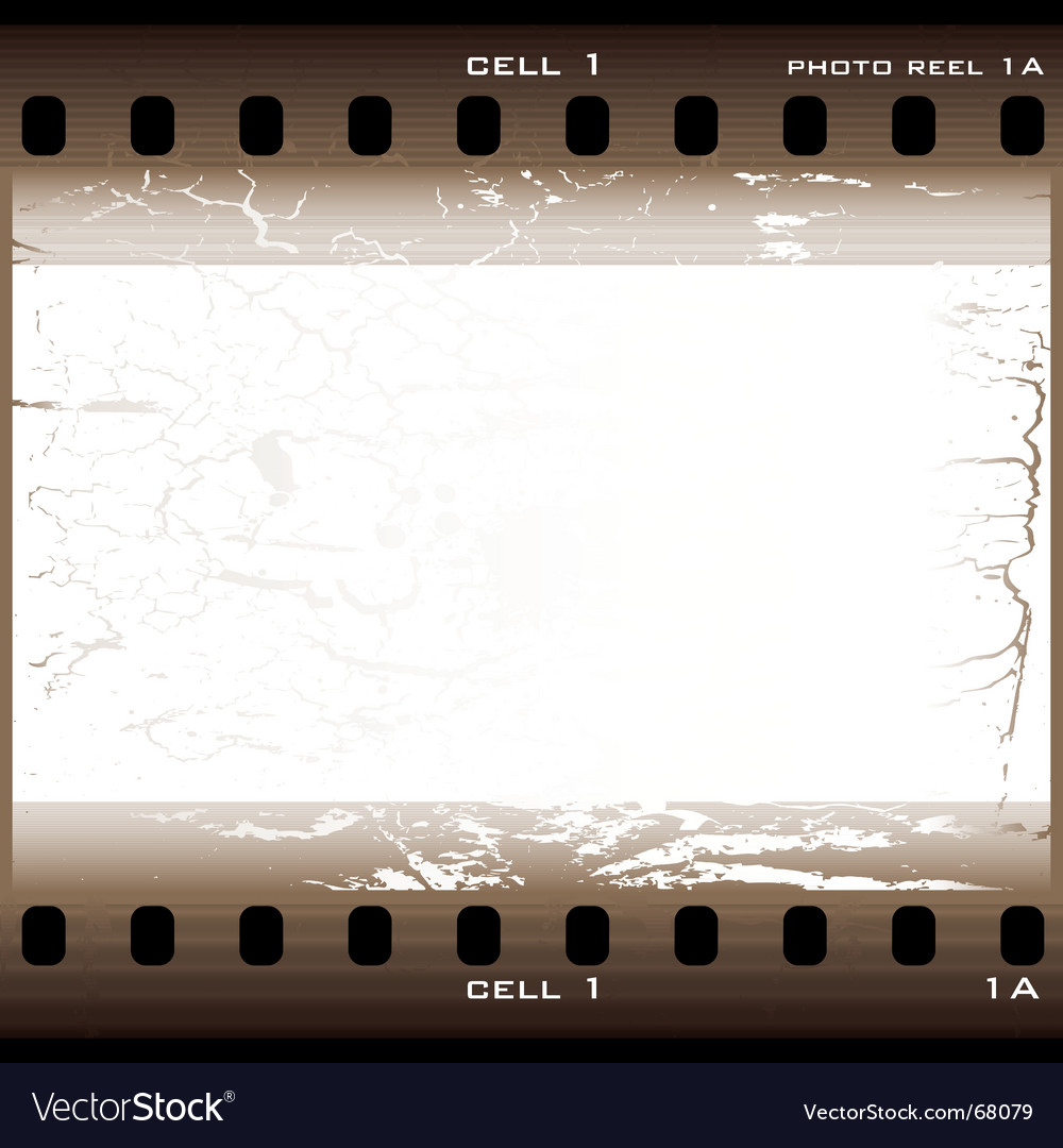 Grunge film cell vector | Price: 1 Credit (USD $1)