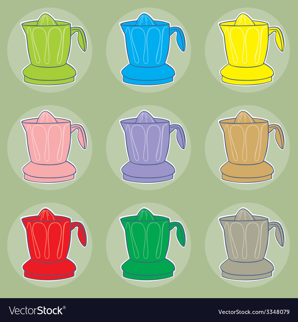 Juicers vector | Price: 1 Credit (USD $1)