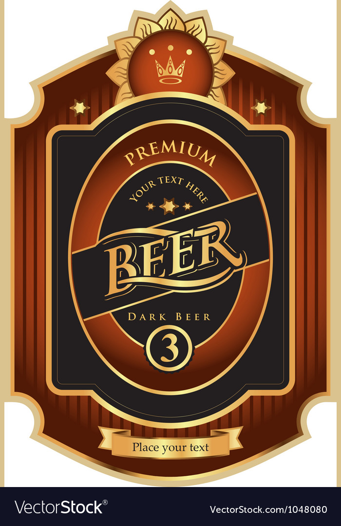 Beer premium class vector | Price: 3 Credit (USD $3)