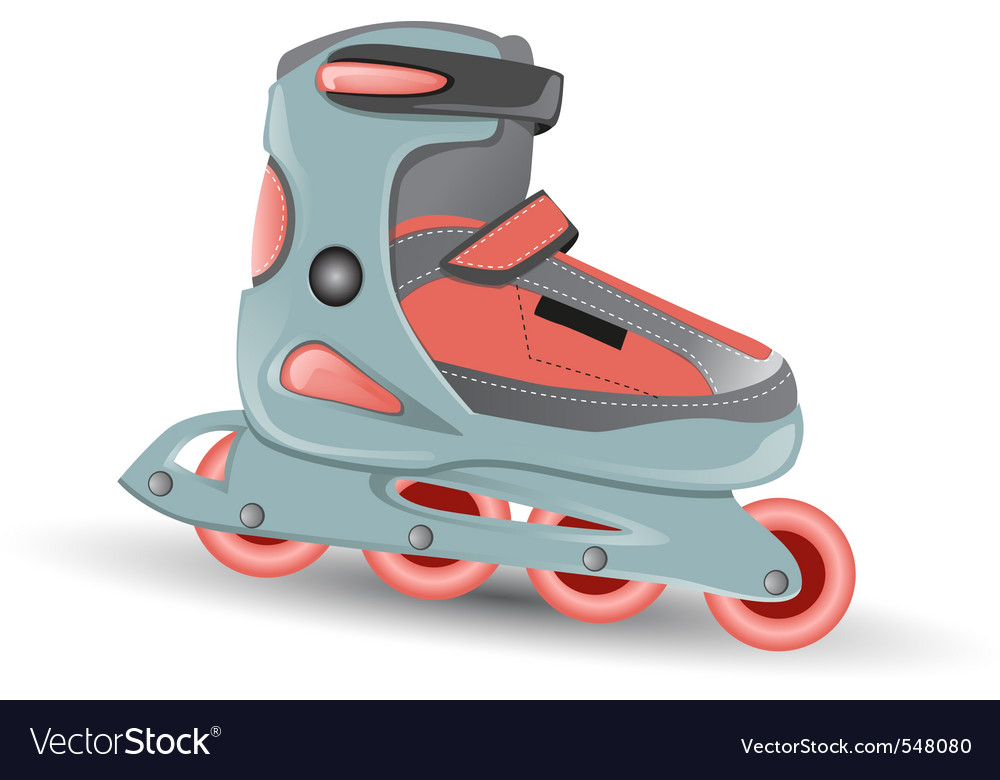 Inline skate vector | Price: 1 Credit (USD $1)