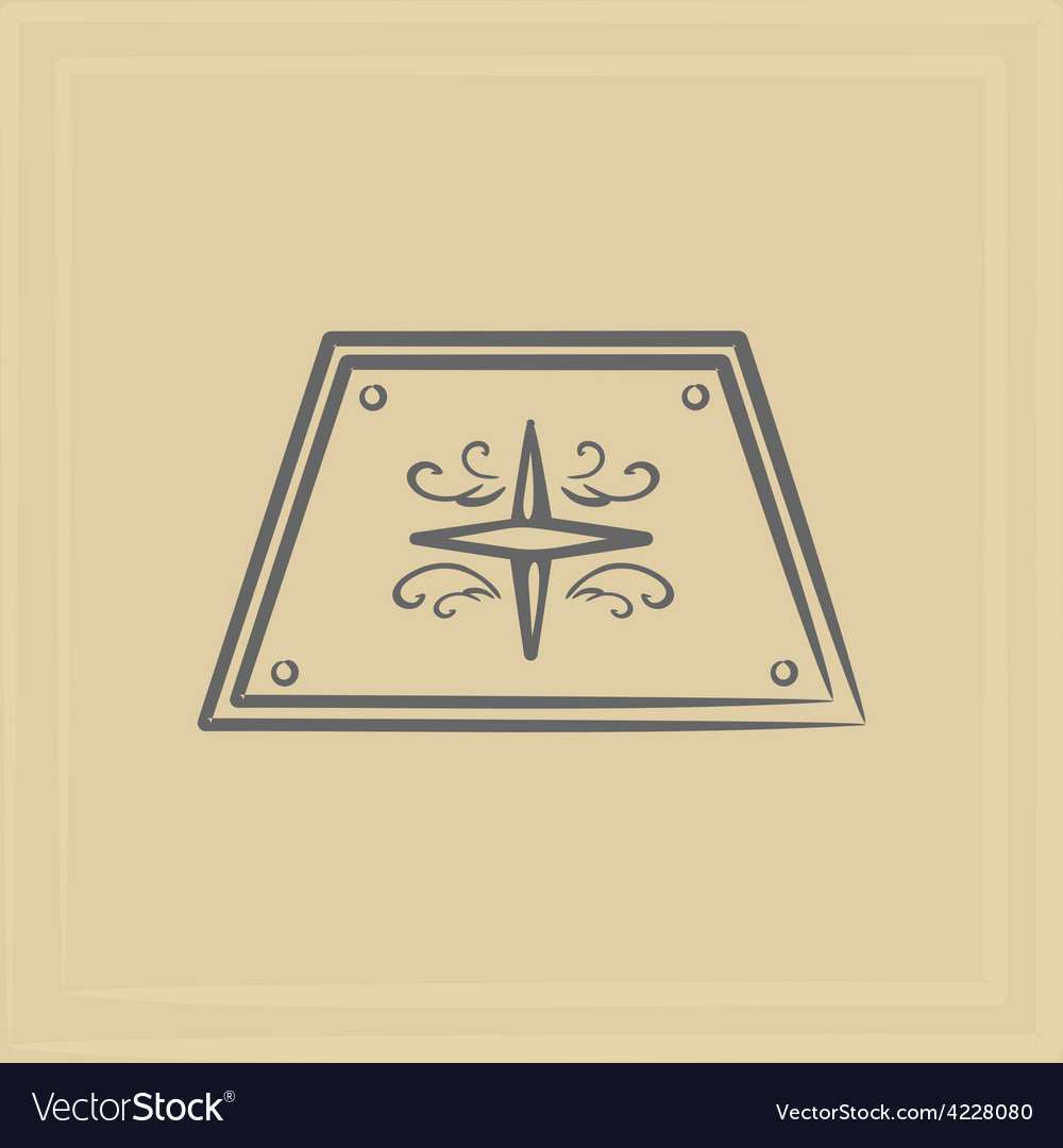 Marine emblem vector | Price: 1 Credit (USD $1)
