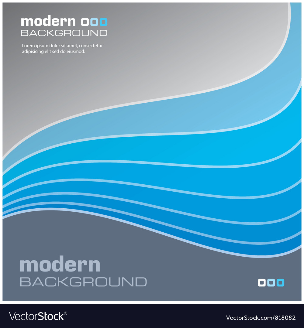 Blue modern background vector | Price: 1 Credit (USD $1)