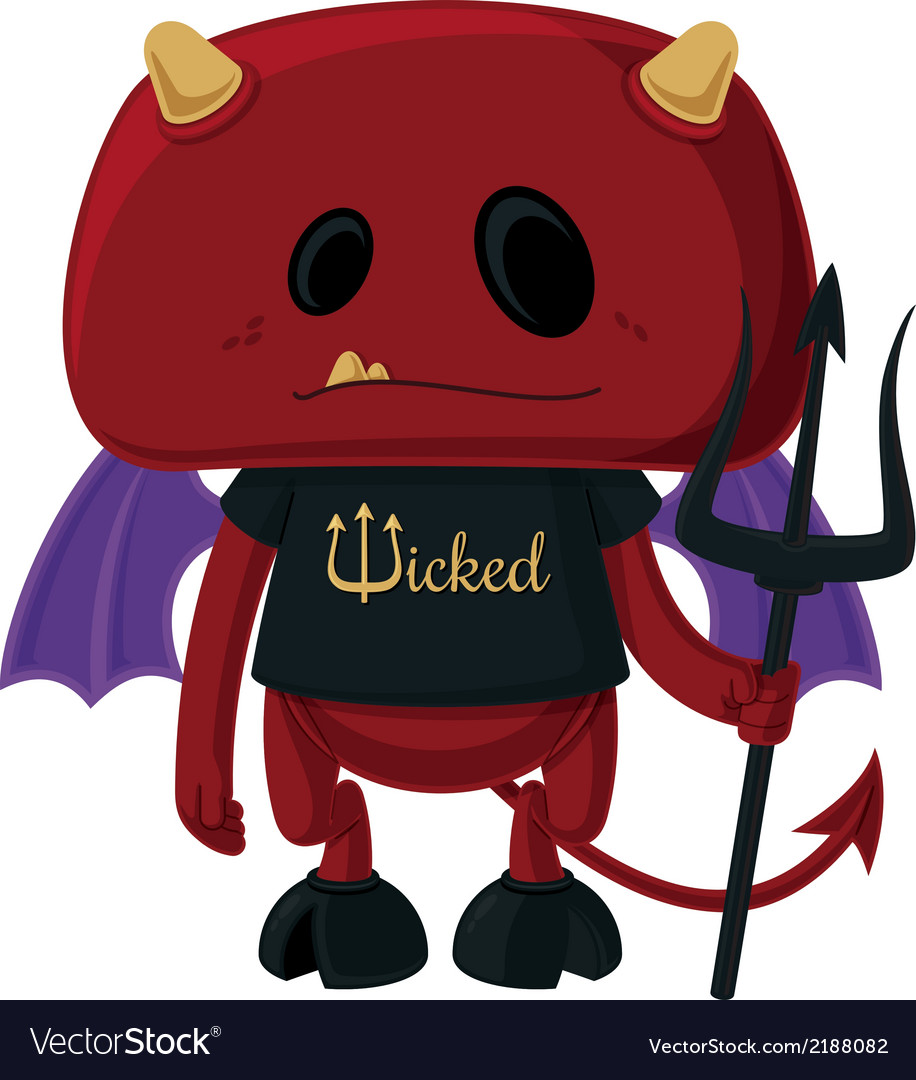 Little devil vector | Price: 1 Credit (USD $1)