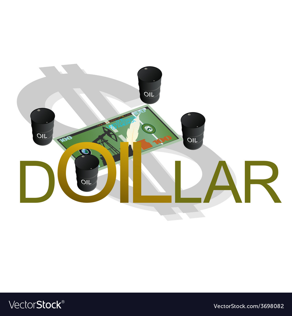 Petrodollar vector | Price: 1 Credit (USD $1)