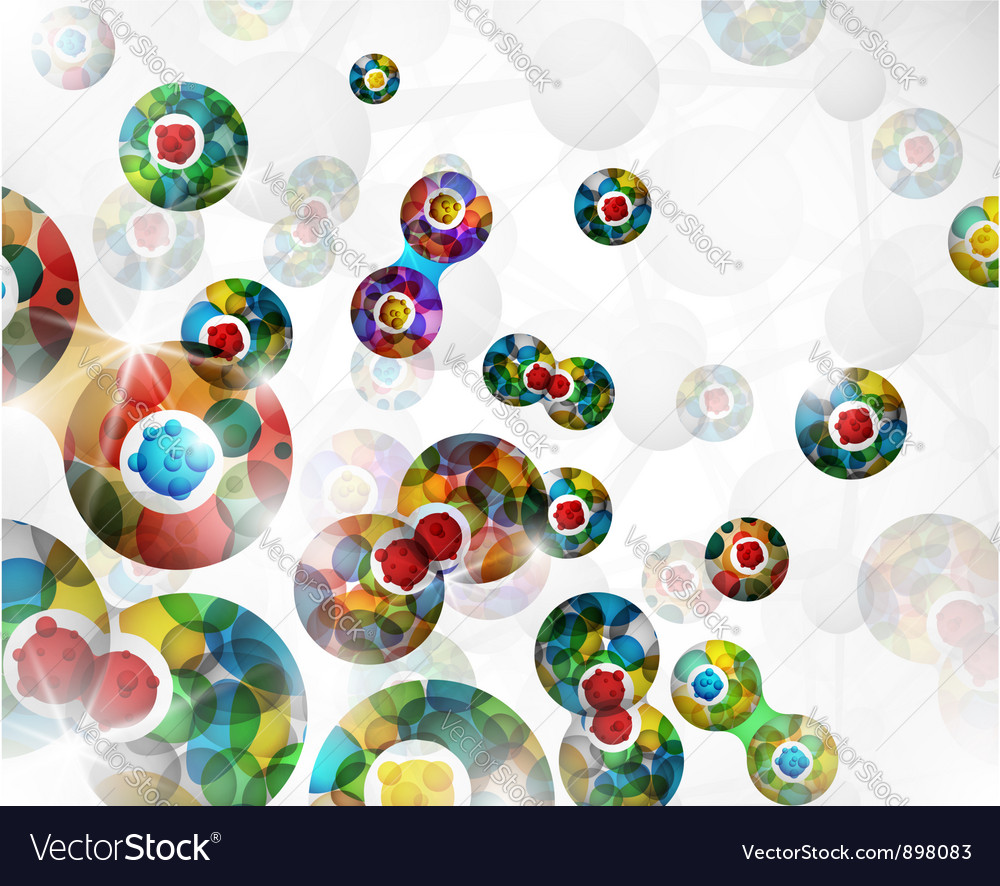 Cell division background vector | Price: 1 Credit (USD $1)