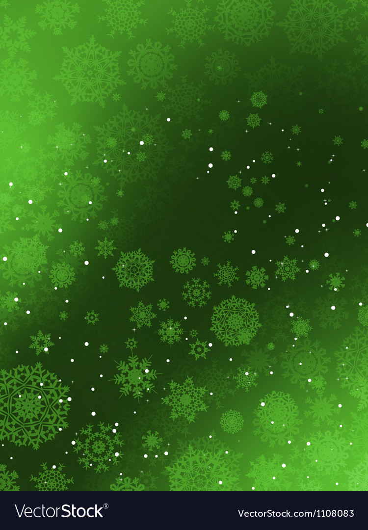 Christmas background with snowflakes eps 8 vector | Price: 1 Credit (USD $1)