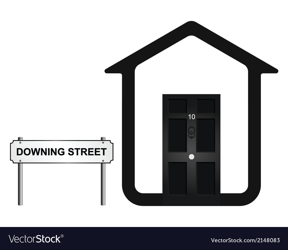 Downing street vector | Price: 1 Credit (USD $1)