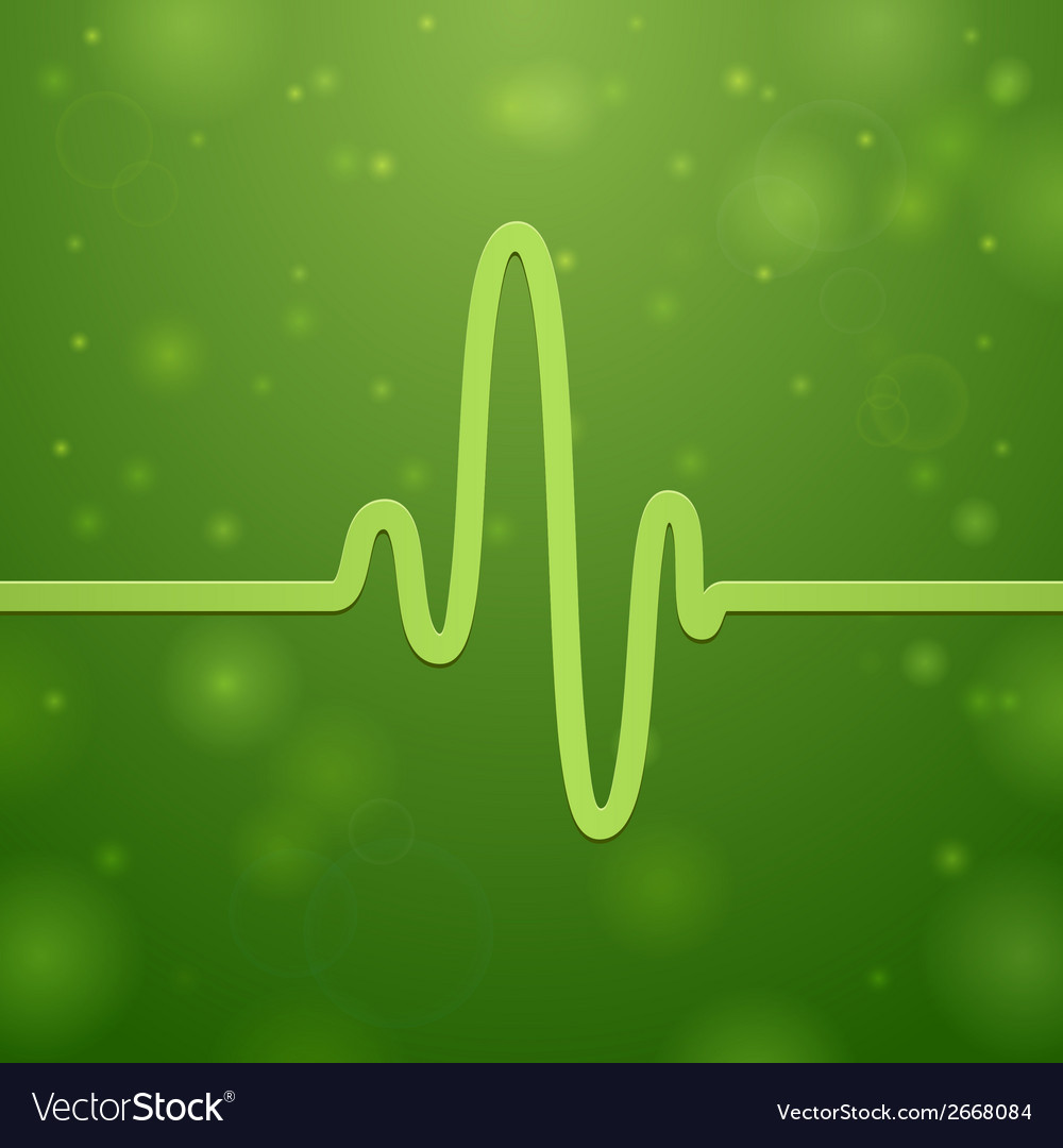 Cardiogram and heartbeat vector | Price: 1 Credit (USD $1)