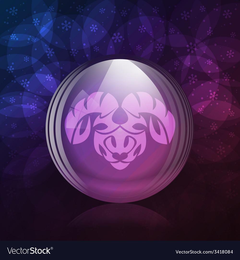 Luminescent snow globe vector   Price: 1 Credit (USD $1)