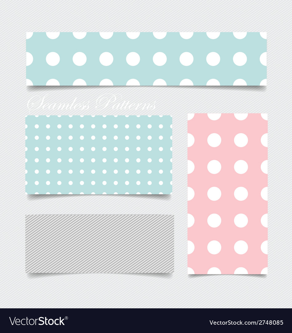 Cute patterns and seamless backgrounds ideal for vector | Price: 1 Credit (USD $1)