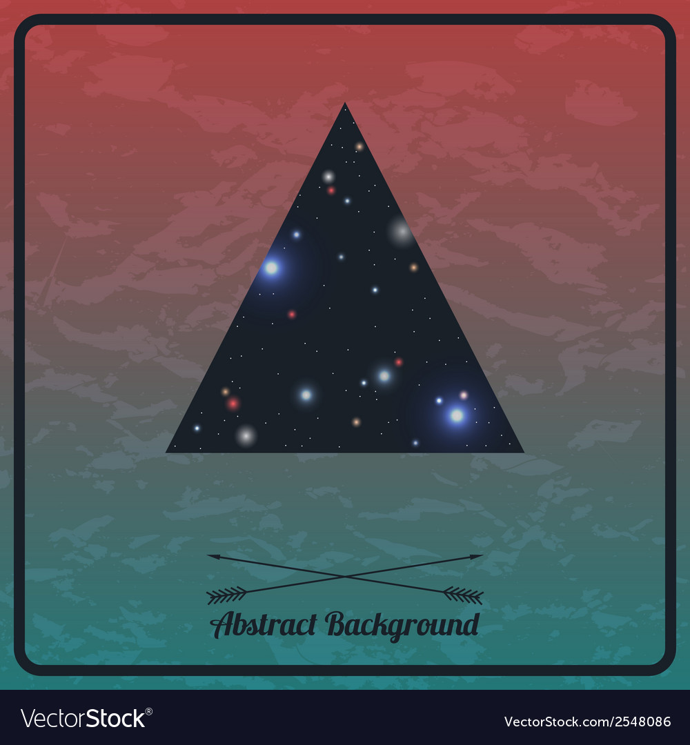 Abstract hipster background with triangle vector   Price: 1 Credit (USD $1)