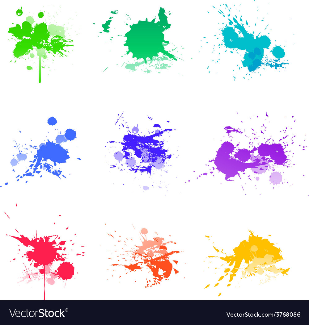 Paint splat ink vector | Price: 1 Credit (USD $1)