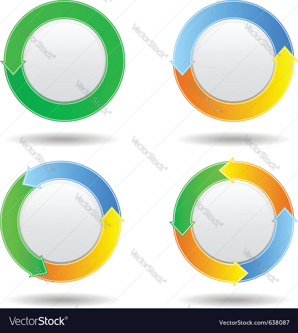 Buttons with arrows vector | Price: 1 Credit (USD $1)