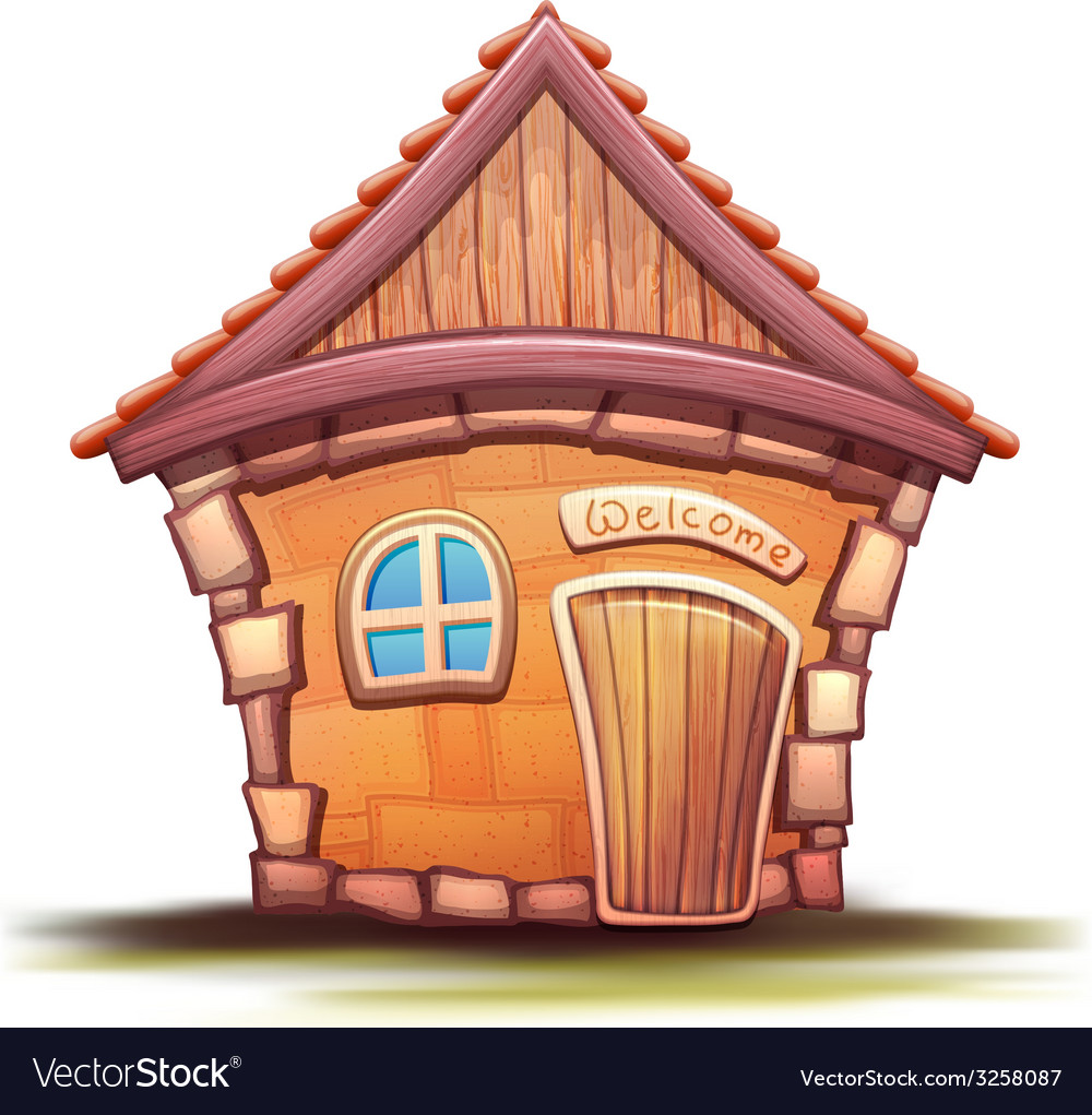 Cartoon home vector   Price: 1 Credit (USD $1)