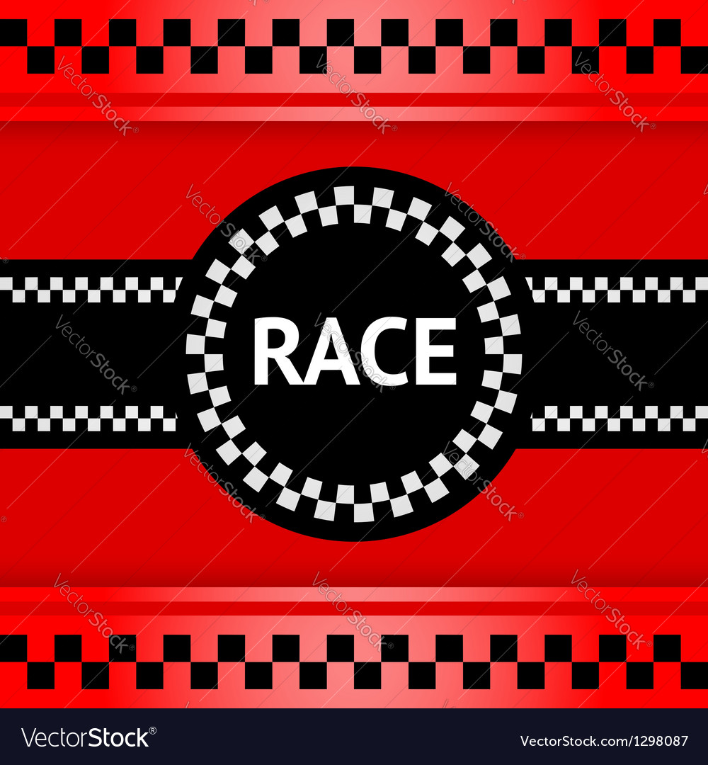 Racing background square vector | Price: 1 Credit (USD $1)