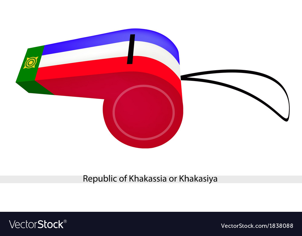A whistle of the republic of khakassia vector | Price: 1 Credit (USD $1)