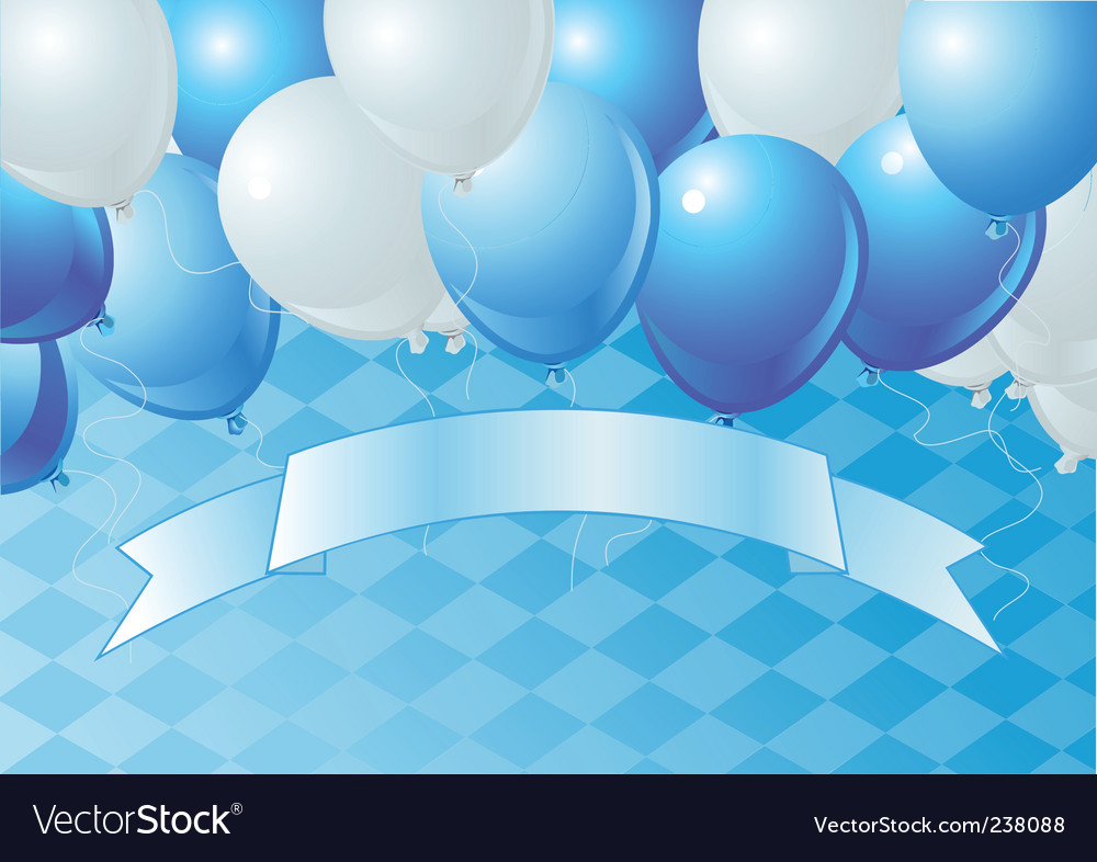Oktoberfest celebration balloons vector | Price: 1 Credit (USD $1)