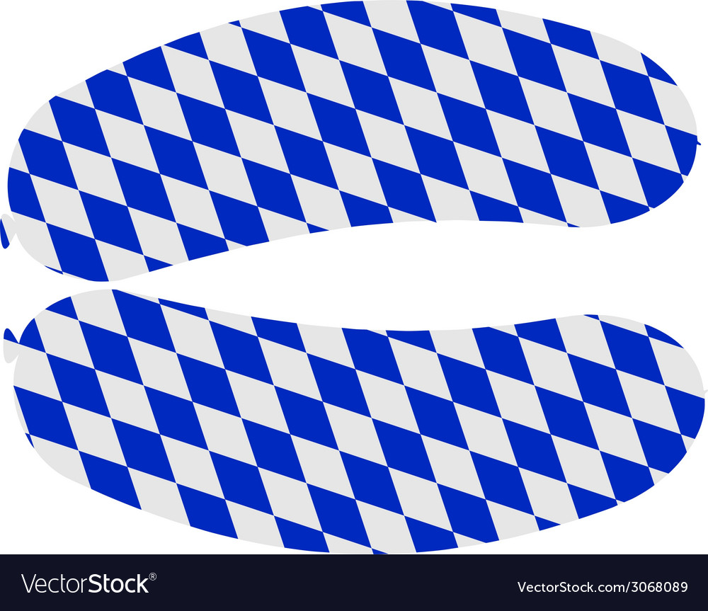 Bavarian sausage vector | Price: 1 Credit (USD $1)