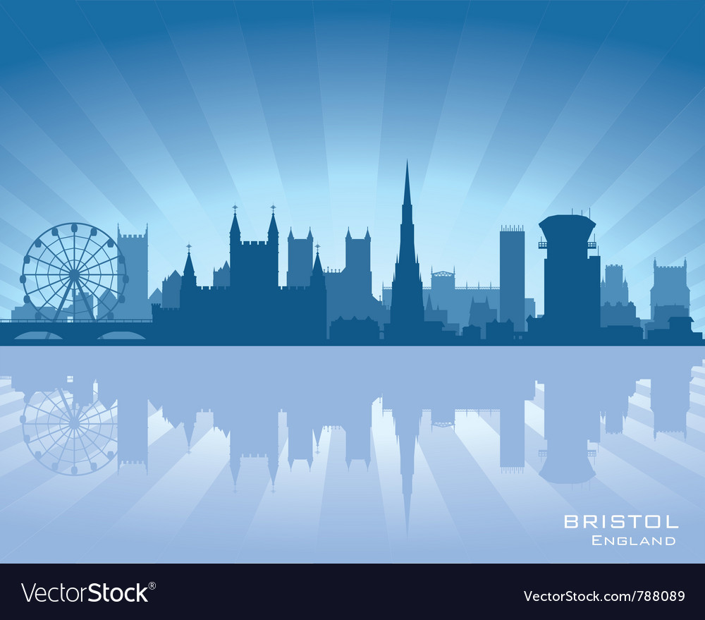 Bristol england skyline vector | Price: 1 Credit (USD $1)