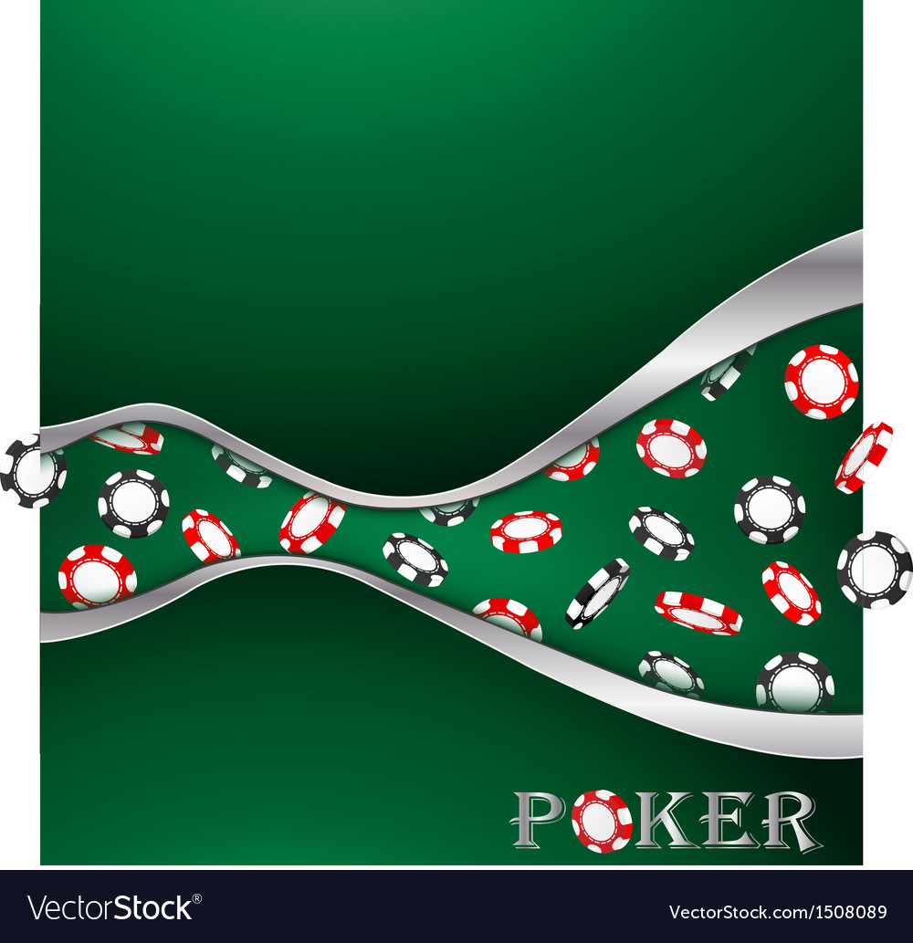 Poker background vector | Price: 1 Credit (USD $1)