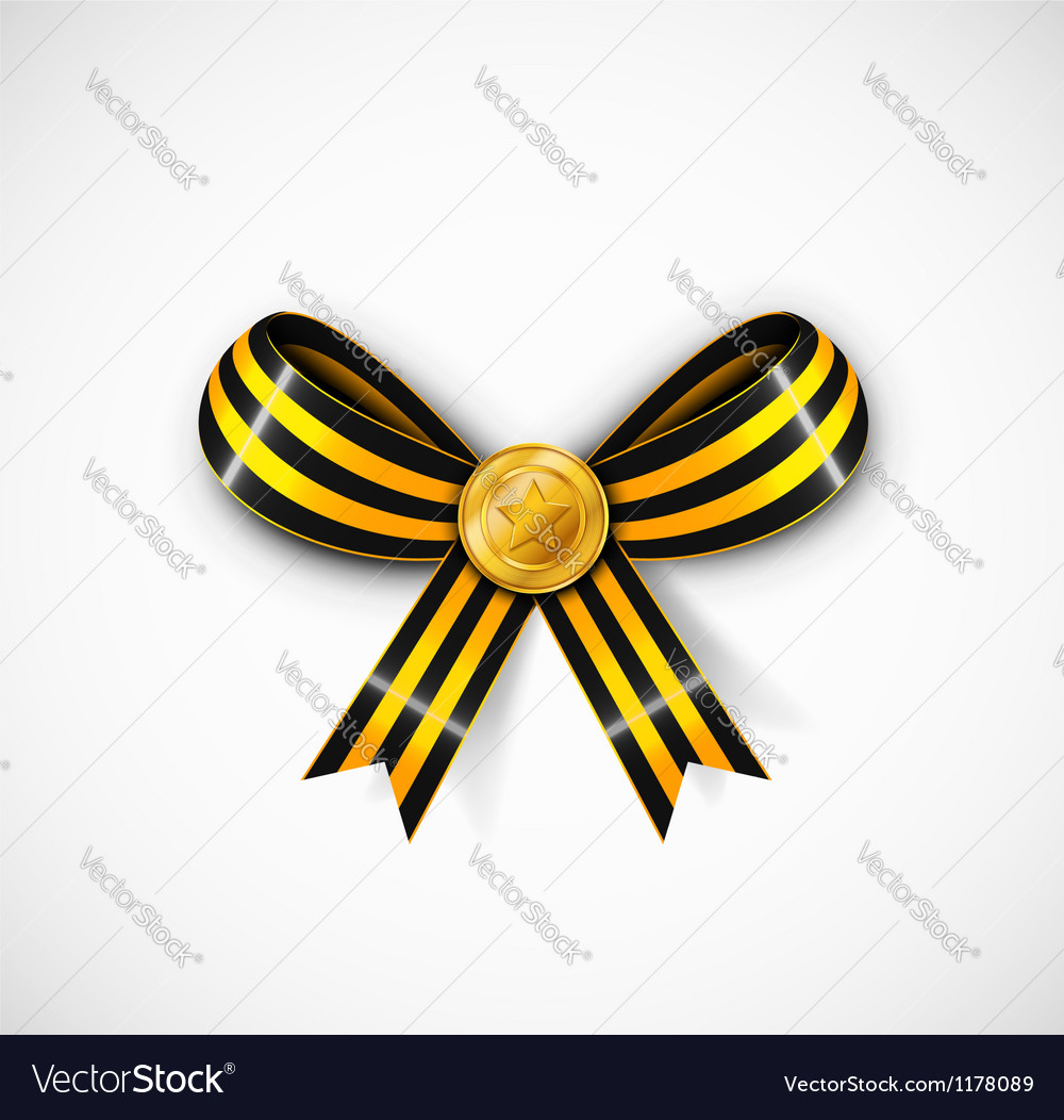 St george ribbon vector | Price: 1 Credit (USD $1)