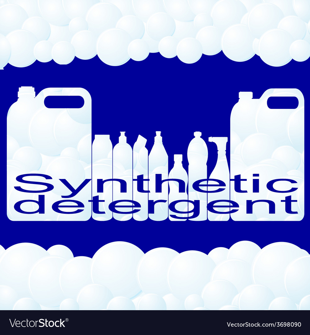 Synthetic detergent vector | Price: 1 Credit (USD $1)