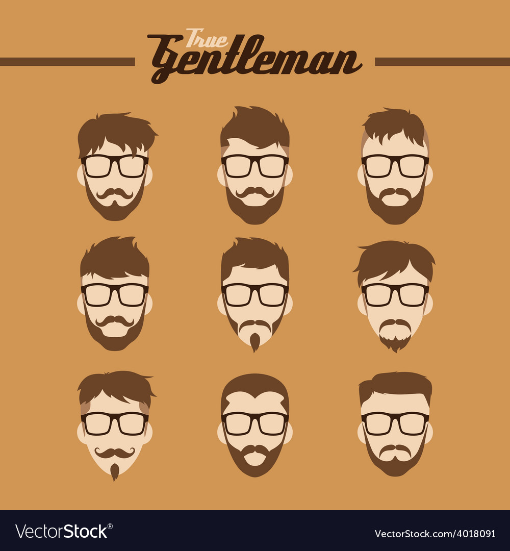 Hipster guy vector | Price: 1 Credit (USD $1)