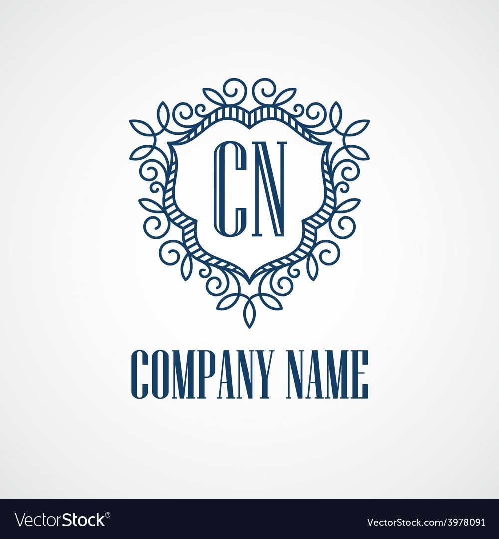 Monogram logos vintage concepts vector | Price: 1 Credit (USD $1)