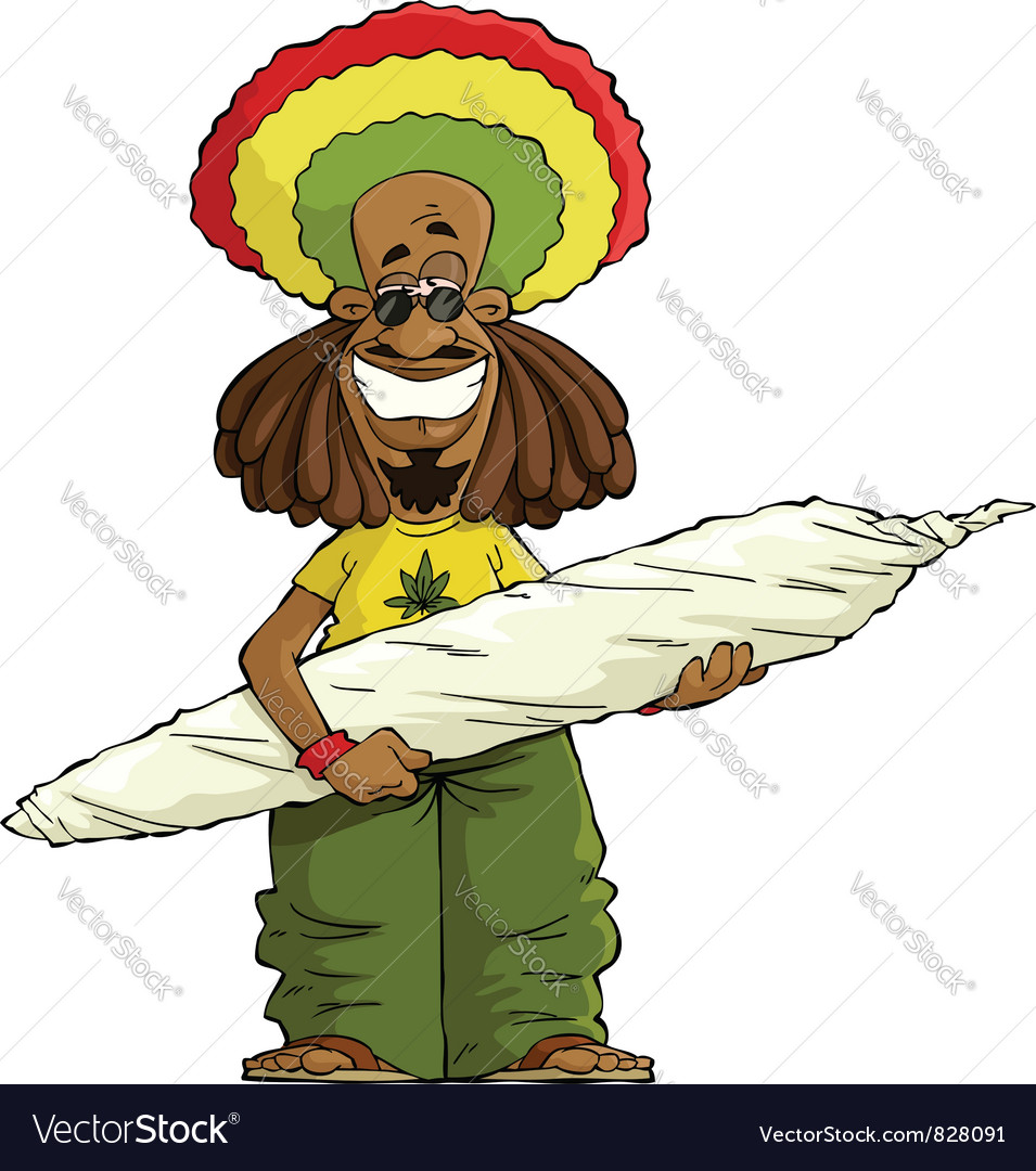 Rastaman vector | Price: 3 Credit (USD $3)