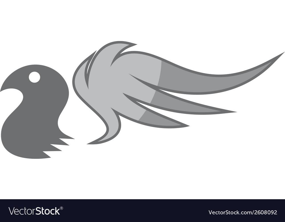 Bird logo vector | Price: 1 Credit (USD $1)
