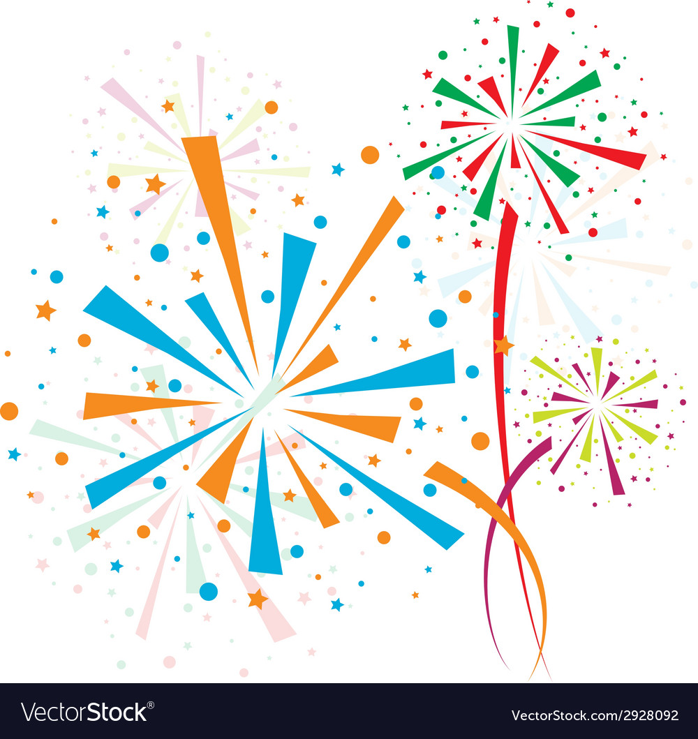Firework color vector | Price: 1 Credit (USD $1)